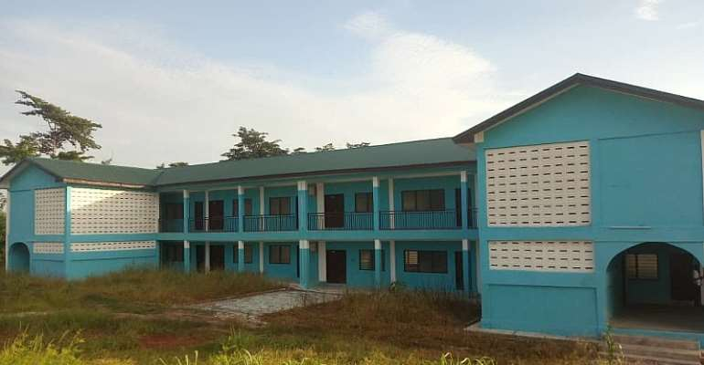 Senior High Schools In Bono Region Witness Massive Infrastructural Dev't