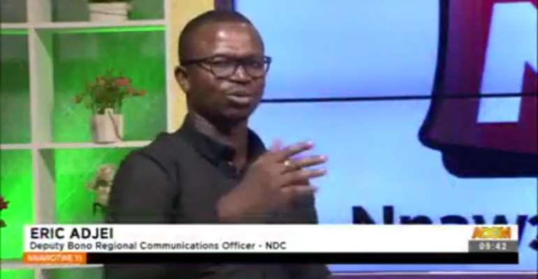 Why won't National Security operatives assault journalists if they've Affail Monney as GJA president — Eric Adjei
