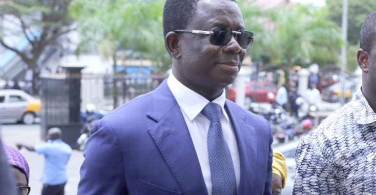 COCOBOD trial: Opuni missing in court