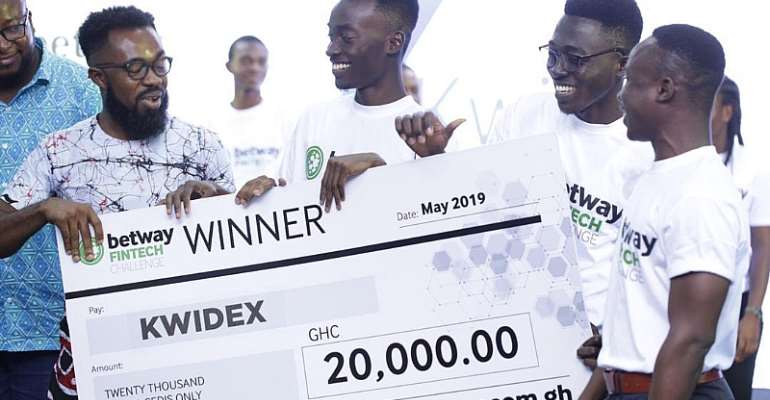 Startup Company Kwidex Wins Betway Fintech Challenge