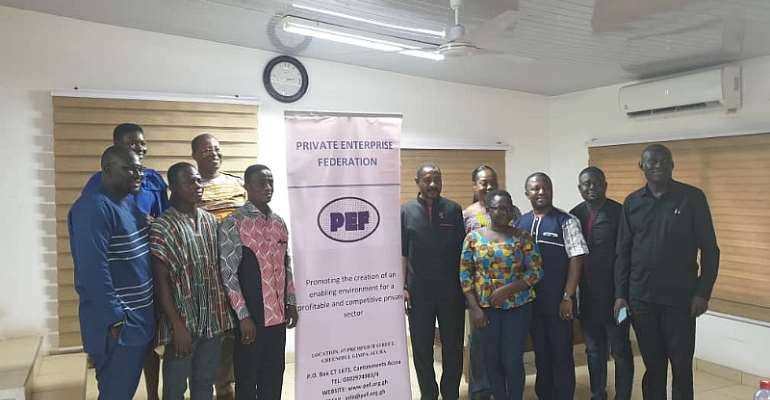 Ghana Chamber Of Young Entrepreneurs Now Members Of The Private Enterprise Federation