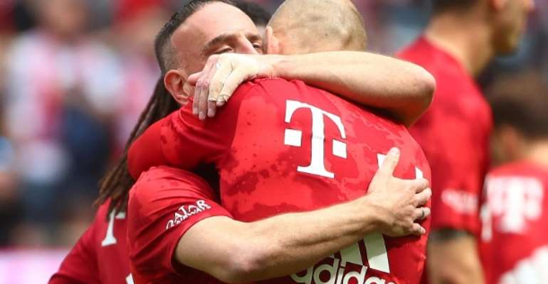 Last German Federal Football Liga (Bundesliga): Tears And Goals! The emotional