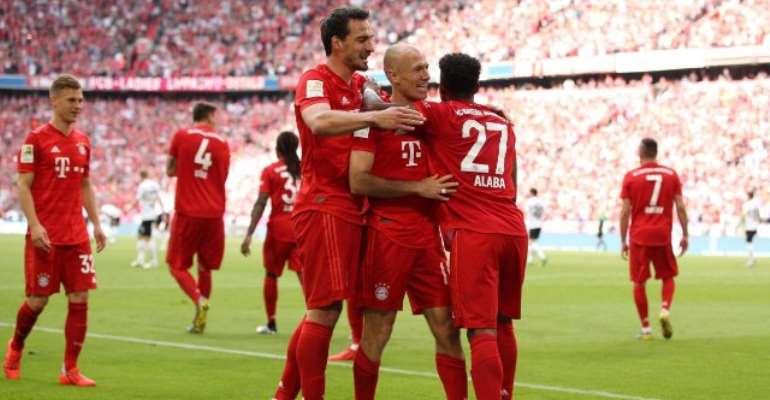 Robben, Ribery Strike In Perfect Farewell As Bayern Seal Bundesliga Title In Style