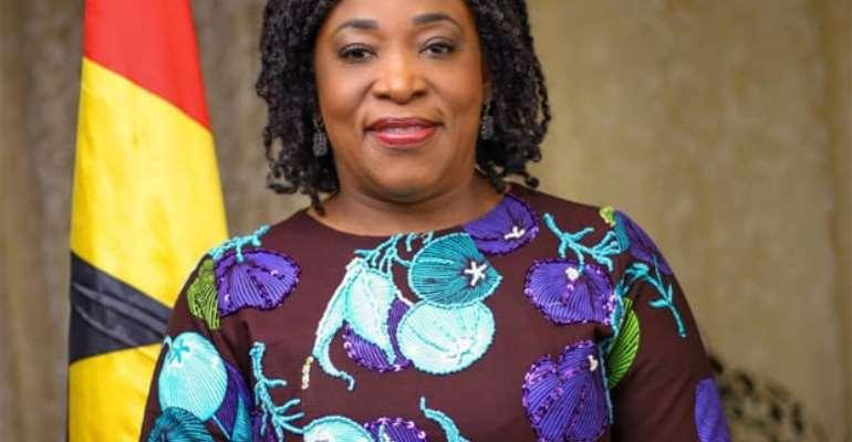 Shirley Ayorkor Botchwey – Minister of Foreign Affairs
