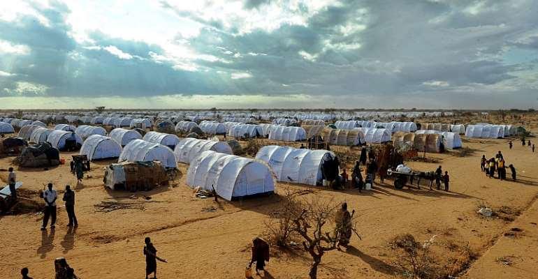 Dadaab refugee camp in Kenya - Source: TONY KARUMBA/AFP/GettyImages