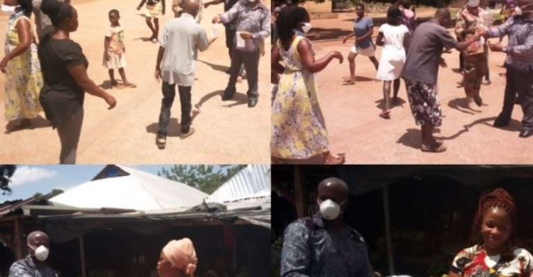 Covid-19: Wearing Of Nose Mask Made Compulsory In Sunyani West