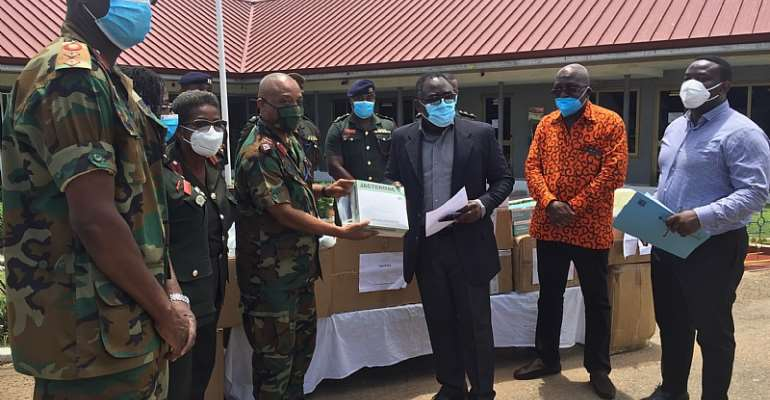 37, Effia Nkwanta Hospital Benefit From PPEs Donations From GUPC