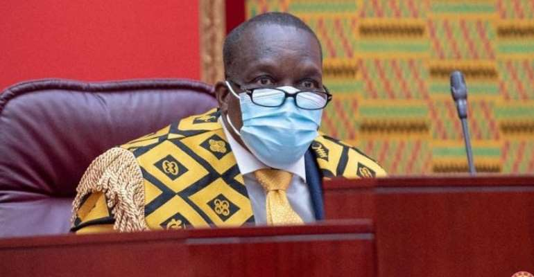 Petition Parliament over your exclusion from 2020 parliamentary election – Bagbin to SALL residents