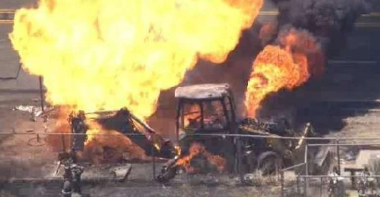 Stop burning mining equipment, be sincere in galamsey fight – NDC Eastern Region to Akufo-Addo amid burning of excavators