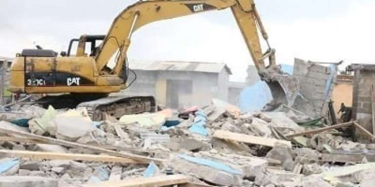 AMA, security agencies to demolish illegal structures at Obetsebi Lamptey