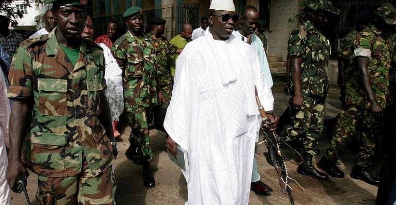 Yahya Jammeh, the former Gambian Dictator. Photo credit: Independent.co.uk