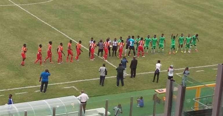 MATCH REPORT: Hearts 3-1 Elmina Sharks – Phobians Dominate Sharks On Match Week 13