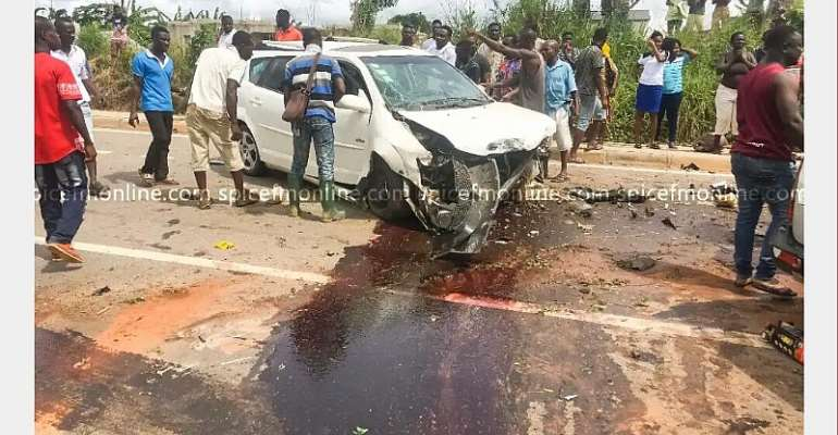 Two Killed In Accident On Anaji-Nkroful Highway