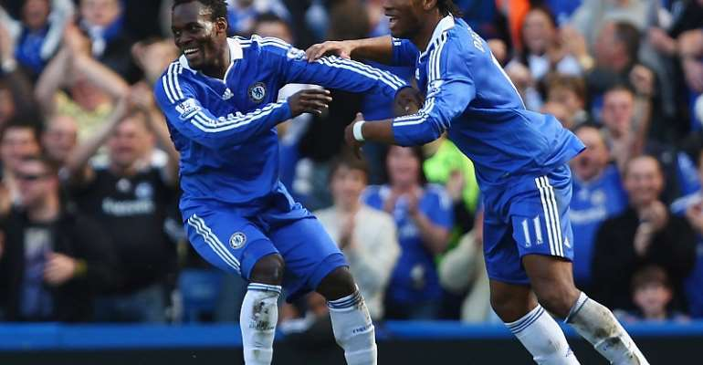 Michael Essien Reveals Drogba's Role In His Move To Chelsea