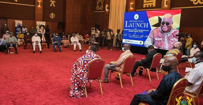 Akufo-Addo Launches GH¢1billion Covid-19 Alleviation Programme For Businesses