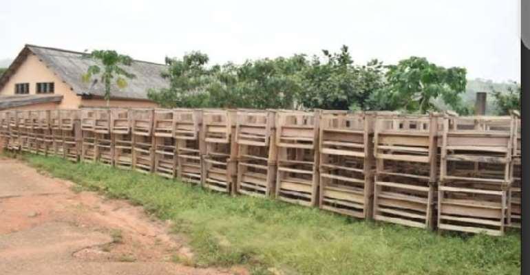 NDC Volta blasts Regional Minister over school desks left to rot