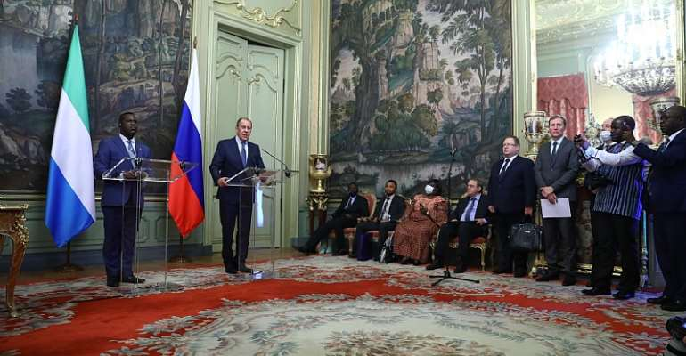Russia and Sierra Leone look for ways to boost cooperation
