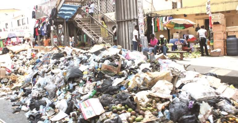 Waste Staring At Ghanaians Everywhere