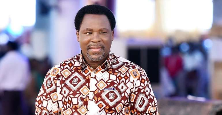 AFCON 2019: Prophet T.B Joshua Can Help Black Stars To Win AFCON - Richard Kingston