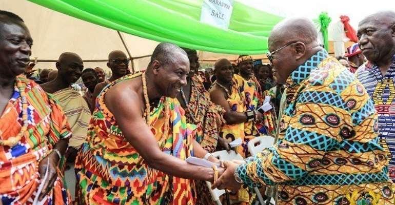 Akufo-Addo Is Godsent – Krachi Paramount Chief