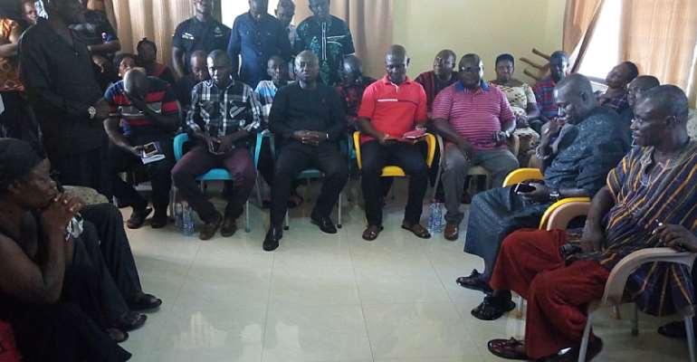 Abuakwa South NPP Commiserates With Family Of Late George Somuah Bosompem