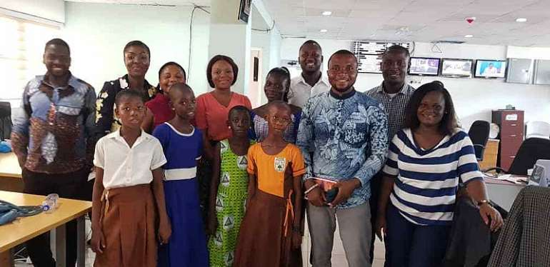 VFL-Ghana Takes Four Essay Winners On Field Trip