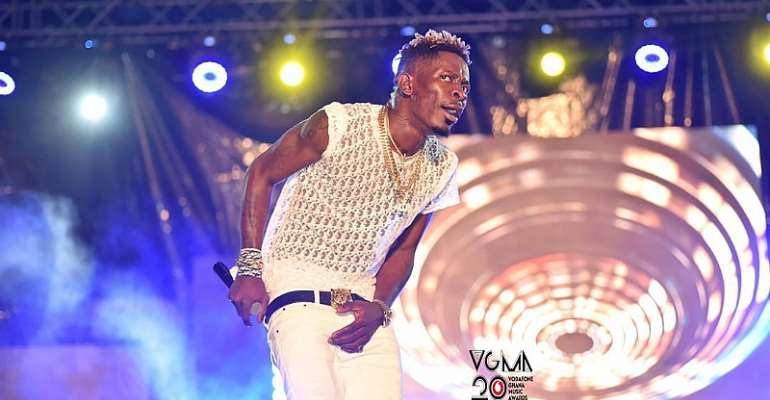 Shatta Wale wasn't going to congratulate Stonebwoy - Father explains