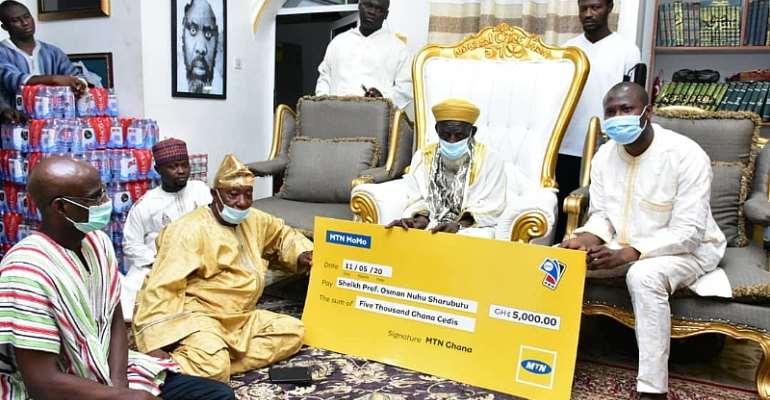 Ramadan Month: MTN Ghana Makes Donations
