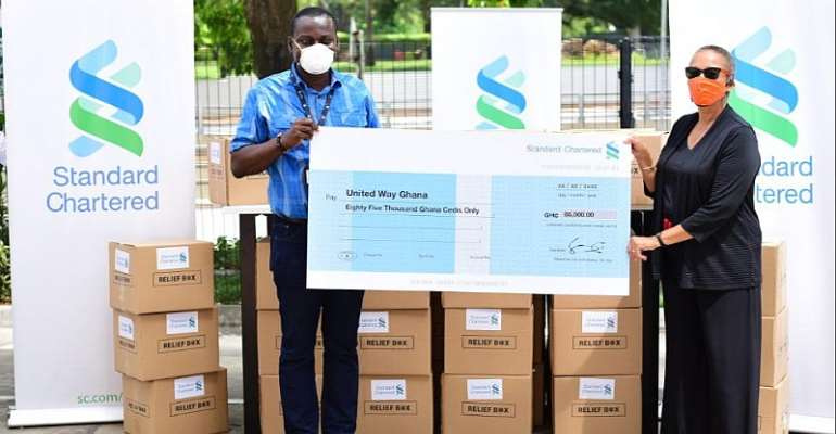 Standard Chartered Provides Vulnerable Communities With COVID-19 Relief