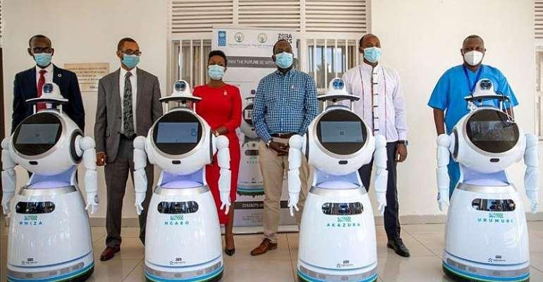 Covid-19: Rwanda Deploy Robots To Treat Patients