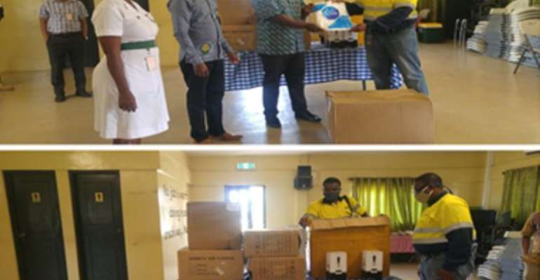 Newmont Ghana Donates To Two Health Institutions