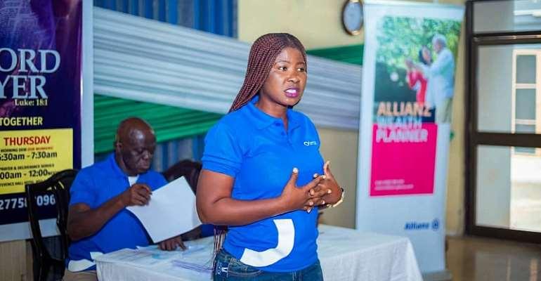 The Executive Director of Otimah Investment Ltd, Madam Bernice Ntiri Owusu
