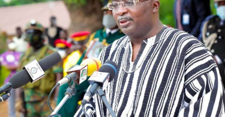 Bawumia commissions 1D1F pineapple processing factory at Nsawam