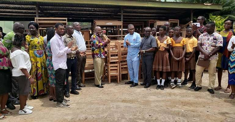 Tarkwa-Nsuaem MP Donates 250 Furniture To Education Directorate