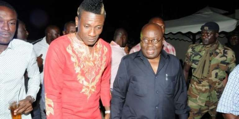 NC, Black Stars Management Committee In A Crunchy Meeting With Akufo Addo Over Gyan's Retirement