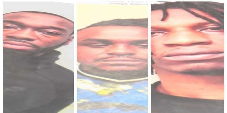 Three Ghanaians Arrested OIn USA Over Money Laundering, Counterfeiting