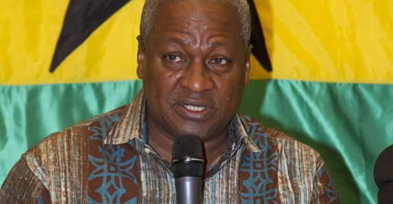 Ghanaians Are Insecure Under Akufo-Addo – Mahama