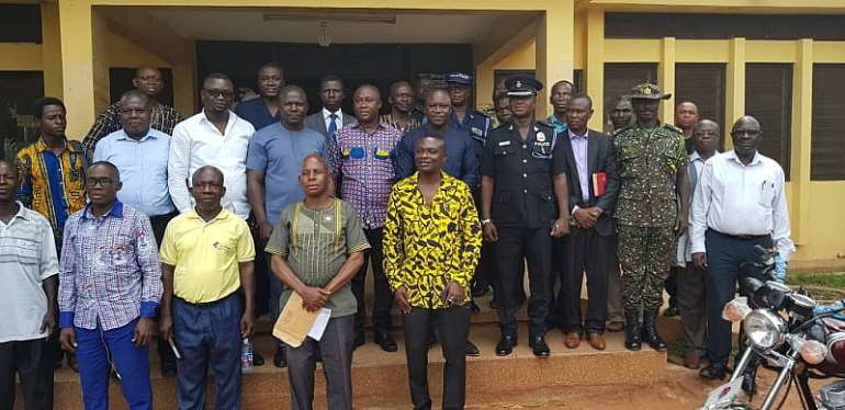 Techiman Municipal Security Committee Tightens Against Terror Threats