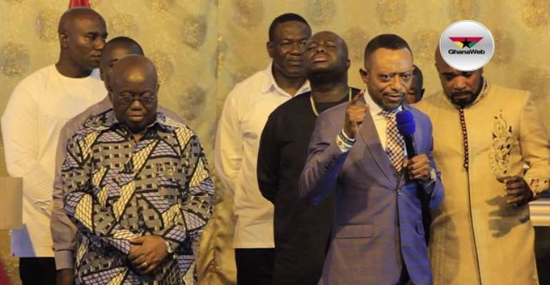 The Ghanaian leader, Akufo Addo and the so-called Prophet Owusu Bempah