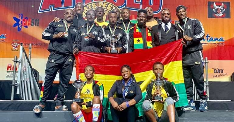 Ghana Shines At 2019 Arnold Classics