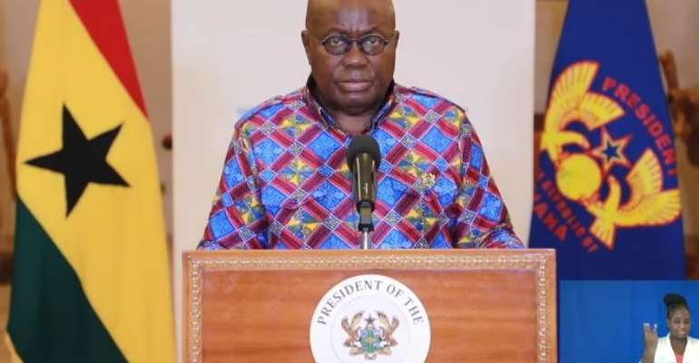Find Ways Of Living With COVID-19 – Akufo-Addo Advises Ghanaians