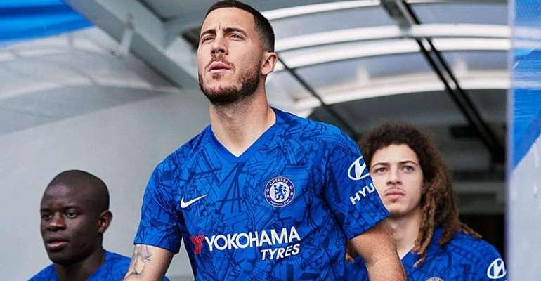 Hazard Fronts Chelsea Kit Launch Amid Real Madrid Talk