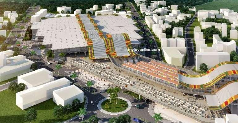 Newly constructed Kejetia Market
