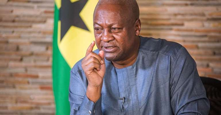 Incompetent Former President Mahama Should Back Off And Allow The Competent President, Nana Addo, To Continue His Good Works