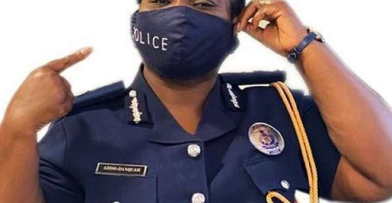 COVID-19: Kpone Police Command Enforces Face Mask Directives