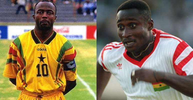 Abedi Pele & Tony Yeboah Never Took Winning Bonus - Former Black Stars Teammate Reveals