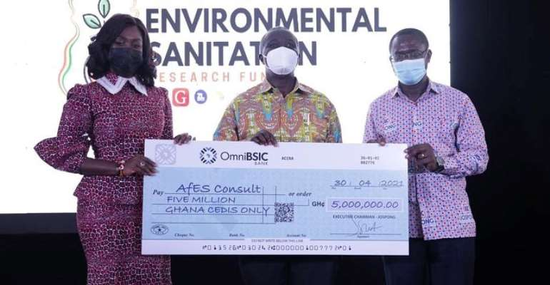 Accra: Big boost for research with GHC5 Million Cedi Environmental Sanitation Research Fund