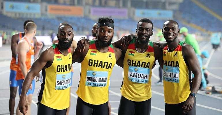 GOC President Ben Nunoo Mensah hails gallant Ghanaian sprinters after Tokyo Olympics qualification