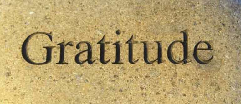 Gratitude That Cannot Be Eroded Even By Time