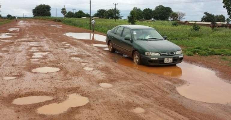 Bolgatanga-Polmakom Road in bad state